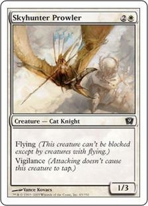 Magic the Gathering Ninth Edition Single Card Common #45 Skyhunter Prowler