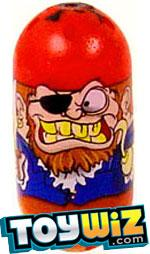 Mighty Beanz 2009 Series 1 Rare Ocean Single #34 Pirate Bean