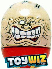 Mighty Beanz 2009 Series 1 Ultra Rare Extreme Single #10 Strong Man Bean