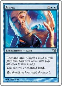 Magic the Gathering Ninth Edition Single Card Uncommon #59 Annex