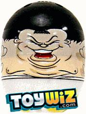 Mighty Beanz 2009 Series 1 Ultra Rare Fight Club Single #5 Sumo Bean