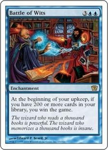 Magic the Gathering Ninth Edition Single Card Rare #65 Battle of Wits