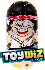 Mighty Beanz 2009 Series 1 Rare Fight Club Single #4 Karate Bean