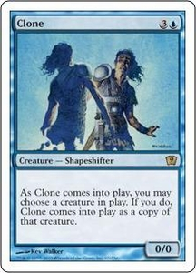 Magic the Gathering Ninth Edition Single Card Rare #67 Clone