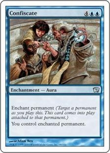 Magic the Gathering Ninth Edition Single Card Uncommon #68 Confiscate