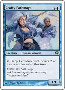 Magic the Gathering Ninth Edition Single Card Common #71 Crafty Pathmage