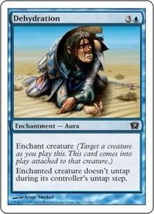 Magic the Gathering Ninth Edition Single Card Common #73 Dehydration