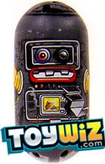 Mighty Beanz 2009 Series 1 Common Space Single #66 Robot Bean