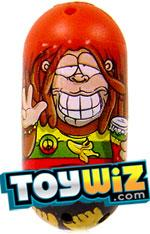 Mighty Beanz 2009 Series 1 Common Monkey Single #91 Rasta Monkey Bean
