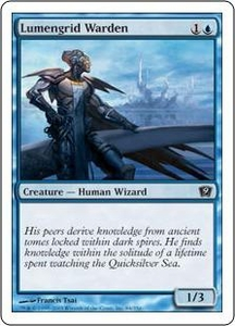 Magic the Gathering Ninth Edition Single Card Common #84 Lumengrid Warden