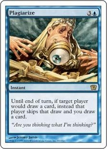 Magic the Gathering Ninth Edition Single Card Rare #89 Plagiarize