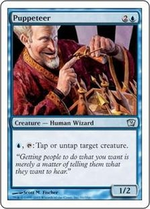 Magic the Gathering Ninth Edition Single Card Uncommon #91 Puppeteer