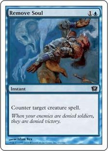 Magic the Gathering Ninth Edition Single Card Common #93 Remove Soul