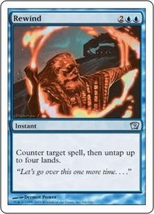Magic the Gathering Ninth Edition Single Card Uncommon #94 Rewind