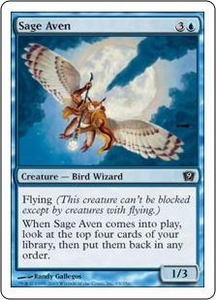Magic the Gathering Ninth Edition Single Card Common #95 Sage Aven