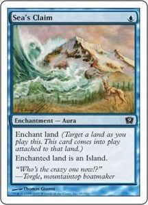 Magic the Gathering Ninth Edition Single Card Common #97 Sea's Claim