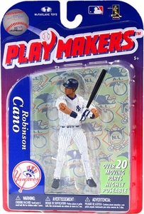 McFarlane Toys MLB Playmakers Series 3 Action Figure Robinson Cano (New York Yankees)