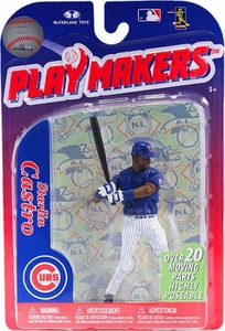 McFarlane Toys MLB Playmakers Series 3 Action Figure Starlin Castro (Chicago Cubs)