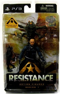 DC Direct Resistance Action Figure Nathan Hale & Swarmer