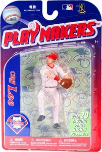 McFarlane Toys MLB Playmakers Series 3 Action Figure Cliff Lee (Philadelphia Phillies)
