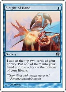 Magic the Gathering Ninth Edition Single Card Common #99 Sleight of Hand