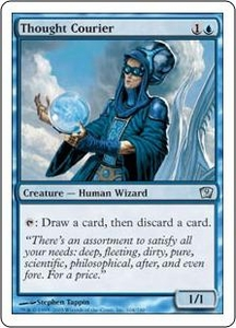 Magic the Gathering Ninth Edition Single Card Uncommon #104 Thought Courier