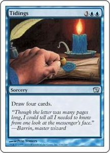 Magic the Gathering Ninth Edition Single Card Uncommon #106 Tidings