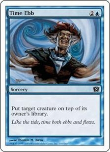 Magic the Gathering Ninth Edition Single Card Common #107 Time Ebb