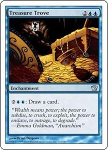 Magic the Gathering Ninth Edition Single Card Uncommon #110 Treasure Trove