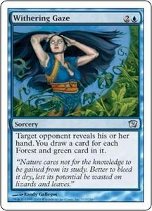 Magic the Gathering Ninth Edition Single Card Uncommon #113 Withering Gaze