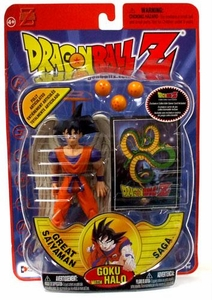 Dragon Ball Z Series 8 Saiyaman Saga Action Figure Goku with Halo