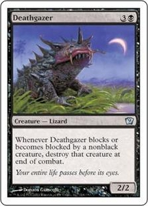 Magic the Gathering Ninth Edition Single Card Uncommon #124 Deathgazer