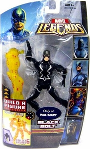 Marvel Legends Exclusive Nemesis Build-A-Figure Wave Action Figure Black Bolt