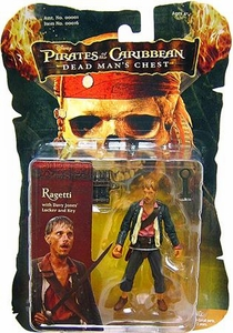 Zizzle Pirates of the Caribbean Dead Man's Chest 3 3/4 Inch Action Figure Ragetti