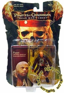 Zizzle Pirates of the Caribbean Dead Man's Chest 3 3/4 Inch Action Figure Pintel