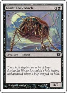 Magic the Gathering Ninth Edition Single Card Common #133 Giant Cockroach