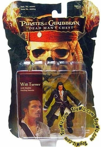 Zizzle Pirates of the Caribbean Dead Man's Chest 3 3/4 Inch Action Figure Will Turner