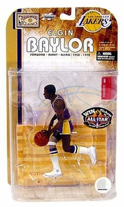 McFarlane Toys NBA Sports Picks Legends Series 4 Action Figure Elgin Baylor (Los Angeles Lakers)