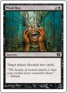 Magic the Gathering Ninth Edition Single Card Common #145 Mind Rot