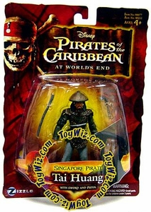 Disney Pirates of the Caribbean At Worlds End Zizzle 3 3/4 Inch Action Figure Series 3 Singapore Pirate Tai Huang