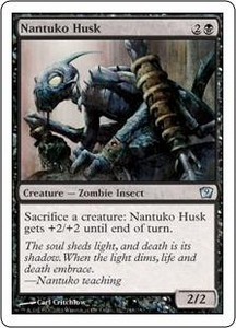 Magic the Gathering Ninth Edition Single Card Uncommon #148 Nantuko Husk