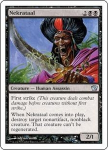 Magic the Gathering Ninth Edition Single Card Uncommon #149 Nekrataal