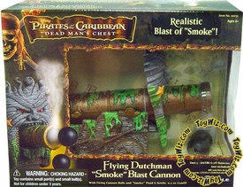 Zizzle Pirates of the Caribbean Dead Man's Chest 3 3/4 Inch Scale Action Figure Playset Flying Dutchman Smoking Cannon BLOWOUT SALE!
