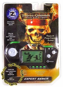 Zizzle Pirates of the Caribbean Dead Man's Chest Hand Held Game Expert Gamer