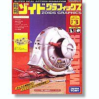 Zoids Monthly Zoids Graphics Volume 3 Kit & Book Malder