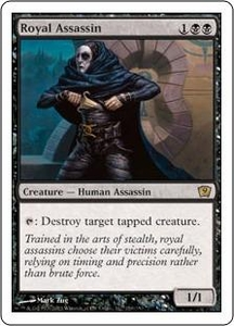 Magic the Gathering Ninth Edition Single Card Rare #159 Royal Assassin