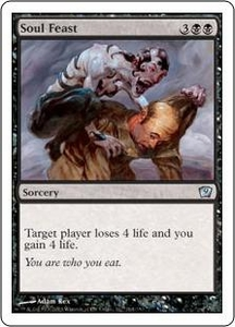 Magic the Gathering Ninth Edition Single Card Uncommon #164 Soul Feast