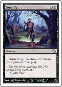 Magic the Gathering Ninth Edition Single Card Uncommon #171 Zombify