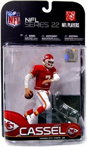 McFarlane Toys NFL Sports Picks Series 22 [2009 Wave 3] Action Figure Matt Cassel (Kansas City Chiefs) Red Jersey
