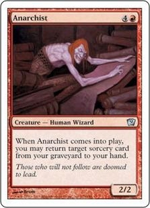 Magic the Gathering Ninth Edition Single Card Uncommon #173 Anarchist